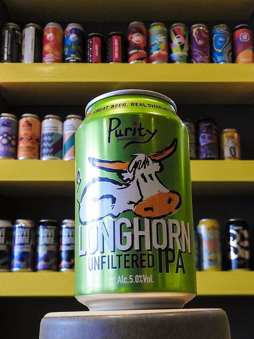 Longhorn: IPA. Purity Brewing Co. 5.0%
