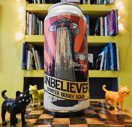 Unbeliever Winter Berry Sour Abbeydale Brewery 4.5%