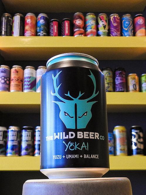 Yokai: Yuzu + Unami. Wild Beer Co. 4.5%