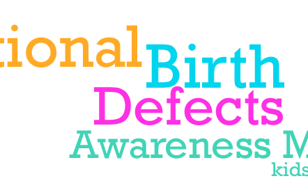 January Brings Awareness to Birth Defects, learn more today:
