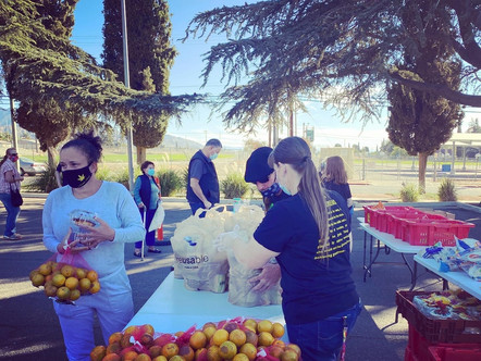 See Photo's from our latest Cure Hunger Now Food Outreach + Holiday Dates!