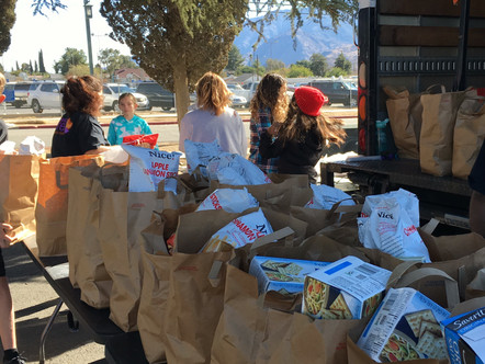 November Banning Food Outreach Feeds Families in Record Time!