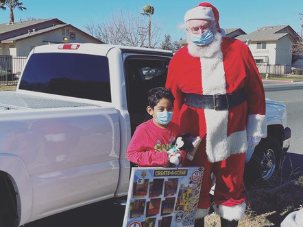 Operation Santa Toy Drive 2020 delivers Toys to Children in our Communities and Kaiser.