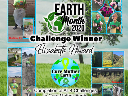Winner of Earth Month Challenges 2020