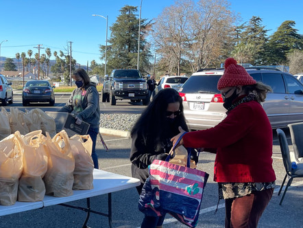 Families receive Apples, Meat and More at 2021's First Cure Hunger Now Food Outreach