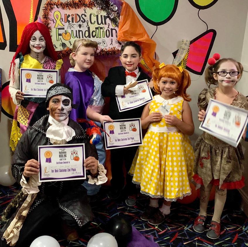Costume contest winners!