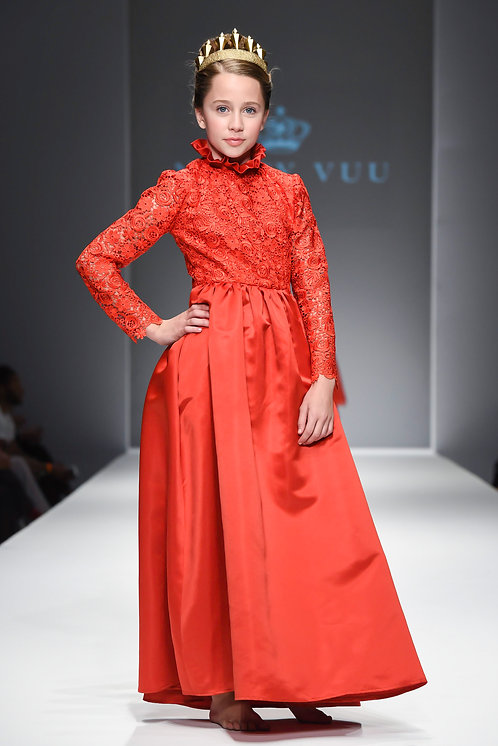 Royal Red Eden Gown