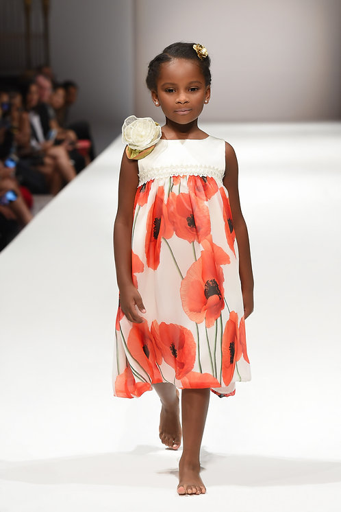 Poppyseed Short Dress