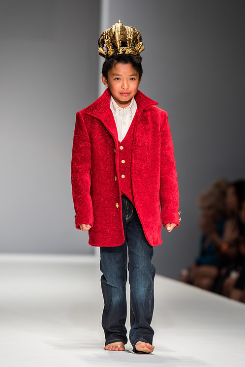 Royal Red Jacket