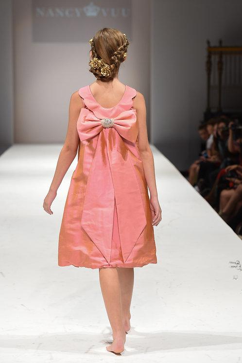 Royal Pink - Silk Back Bow Sweetness