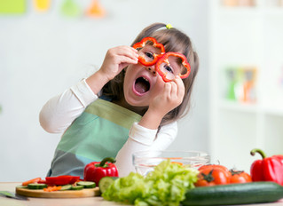 Toddlers need fruits and vegetables in their daily diet
