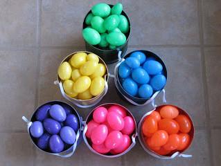 Easter Egg Hunting Idea
