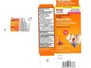 Recall Alert! Baby Ibuprofen From Walmart, CVS, and Family Dollar Has Been Recalled