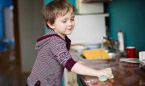 Household chores promote hands-on learning