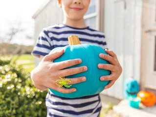 Teal Pumpkin Project Painting