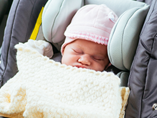 Are coats and covers safe to use in car seats?