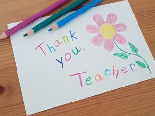 Top 5 Ways to Thank Your Child's Teacher