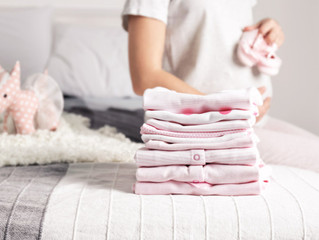 How and when to wash newborn baby clothes