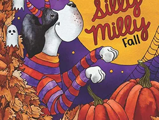 A Silly Milly Fall: Halloween and Thanksgiving with a Really Big Dog!