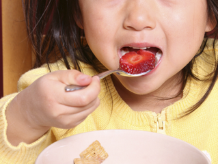 Let your child decide how much food to eat