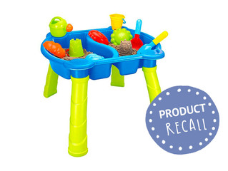 Product Recall: Target Sand and Water Table