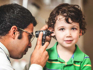 A hearing test is an important part of your child's regular medical checkup