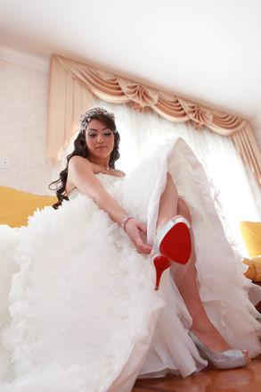Bridal Getting Dressed