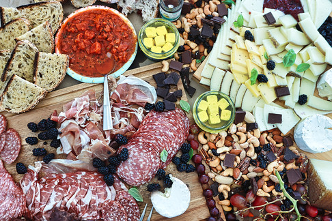 Gourmet Cheese And Meat Platter