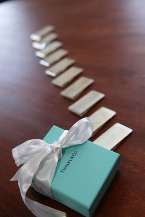 Tiffany wedding accessories