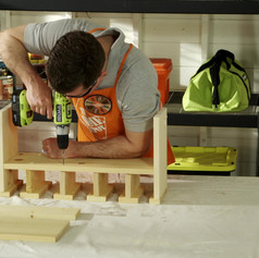 The Home Depot - DIY Drill Station