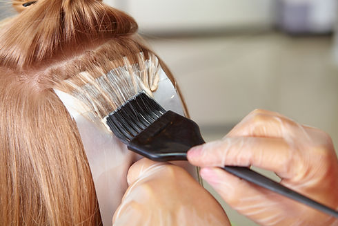 Hair salon. Coloring..jpg