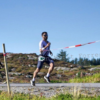 Eddie Disch, Triathlete, Norway