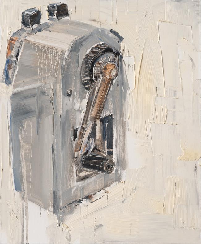 Pencil Sharpener, 2011, oil on canvas, 73x60cm