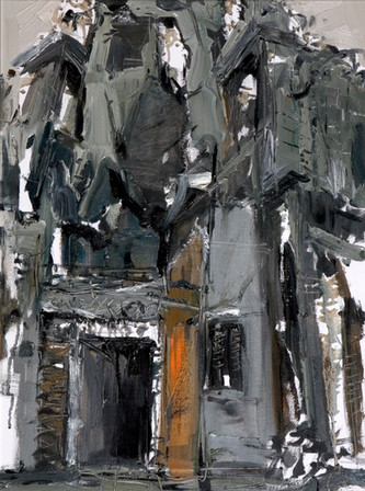 Angkor Wat #7, 2008, Oil on canvas, 61x46cm. Nanyang academy of Fine Arts collection.Image courtesy of Nanyang Academy of Fine Arts
