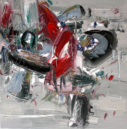 Boom #21, 2009, oil on canvas, 46x46cm