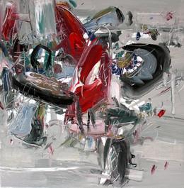 Boom #21, 2009, oil on canvas, 46x46cm
