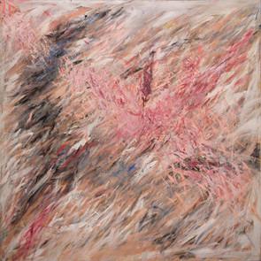 Being VI. 1995, acrylic on canvas, 179x177cm.