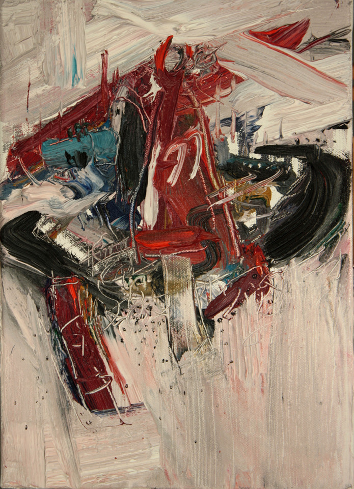 Boom #15. 2009, oil on canvas, 35.5x25cm