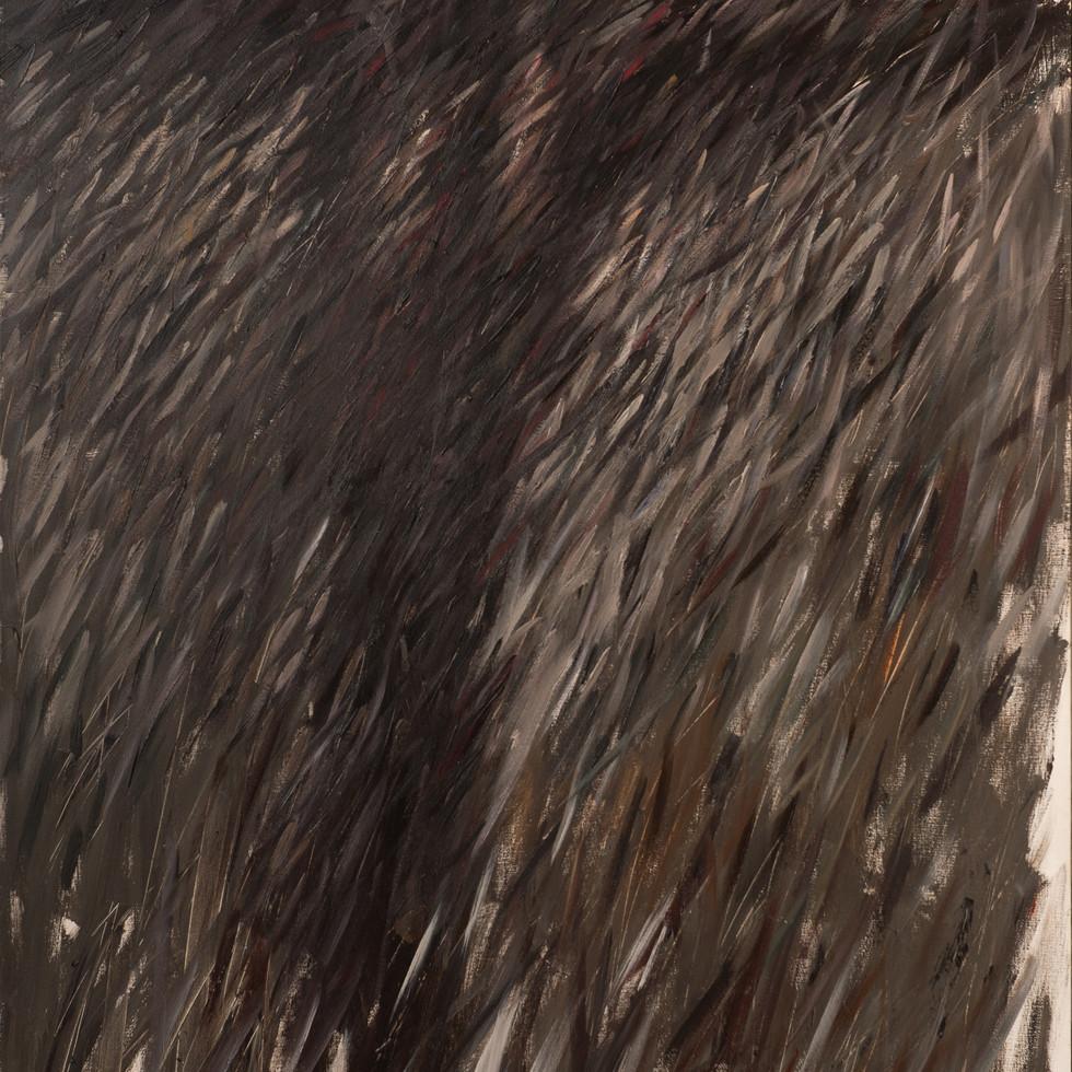 Being IV. 1995, acrylic on canvas, 179x122cm.