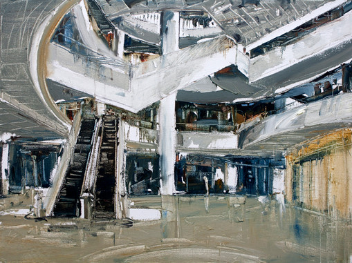 The Mall #3. 2010, oil on linen, 92x122cm. Private collection.jpg