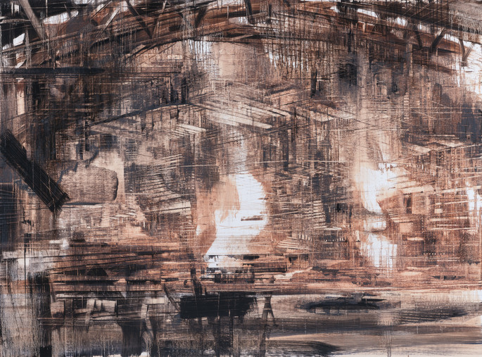 A Place Between Other Places #16, 2018, 100x135cm. Private collection