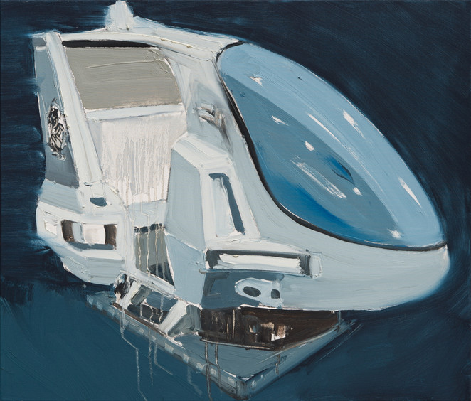 Space Shuttle I, 2012, oil on canvas, 60x70cm