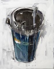 VSC mug. 2011, oil on canvas, 71x56cm