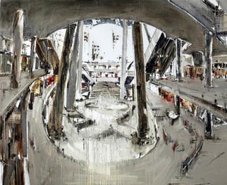 The Star Vista #1. 2012, oil on jute canvas, 122x150cm