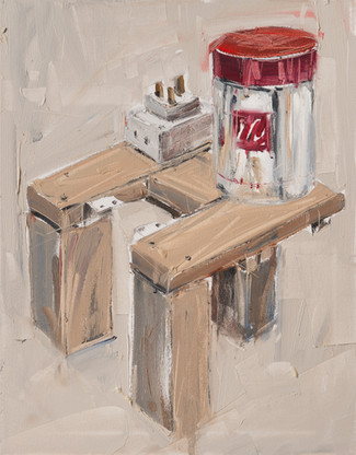 Illy, 2011, oil on canvas, 71x56cm