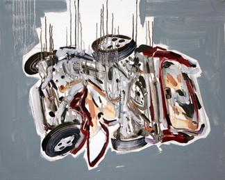 Carsh #5, 2014, oil on canvas, 61x76cm