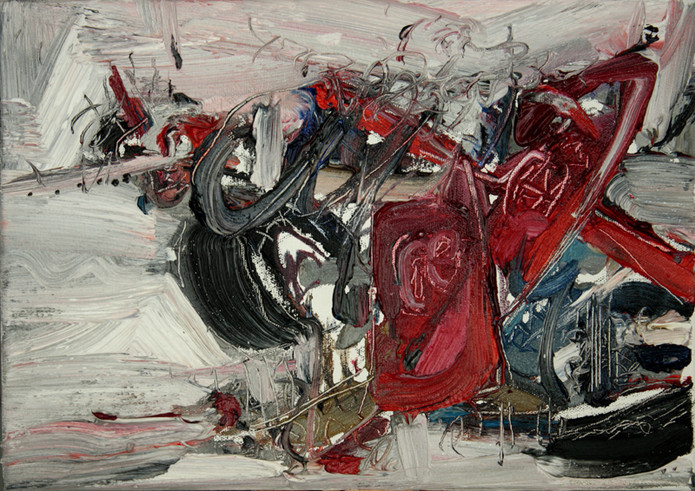 Boom #14. 2009, oil on canvas, 25x35.5cm