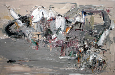Boom #23, 2009, oil on canvas, 61x92cm. Private collection
