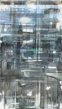 In-Between Places #7, 2019, oil on linen, 140x80cm