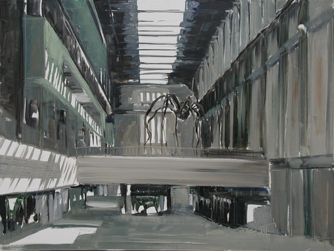Tate Modern, 2005, oil on canvas, 92x122cm. Collection Singapore Art Museum.